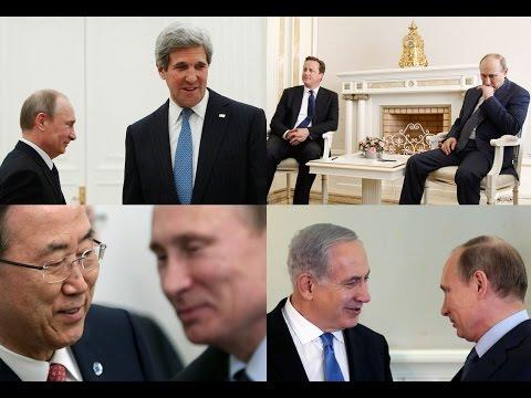 Vladimir Putin to Host John Kerry for High Stakes Sochi Talks