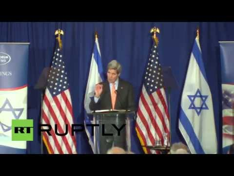 "USA: ""Israeli settlements undermining prospects for peace"" - Kerry"