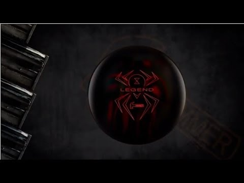 Hammer Black Widow Legend Bowling Ball Reaction Video
