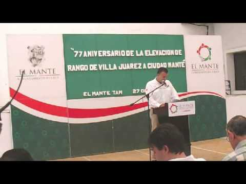 conmemoran 77 aniversario de elevación de rango de Villa a Ciudad Mante