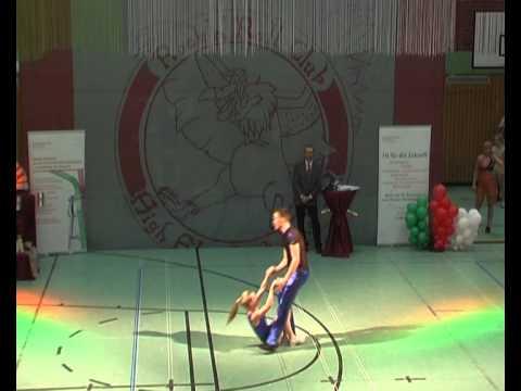 Nathali Kurzaj & Fabian Stracke - Landesmeisterschaft NRW 2013