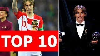 Top 10 điều thú vị về Luka Modric