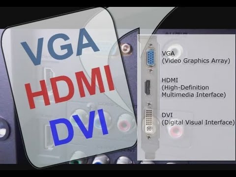 Que es HDMI. VGA. DVI. sus Cables y Cual es mejor para HDTV Full HD Smart TV LED LCD Plasma