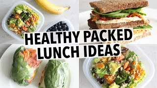 EASY HEALTHY LUNCH IDEAS - FOR SCHOOL OR  WORK!