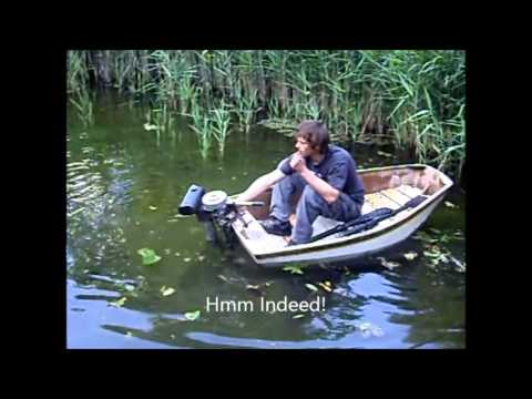 Epic Outboard Motor On Small Boat Test Fail Part 1 Youtube