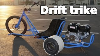 MOTORIZED DRIFT TRIKE HOME BUILD PROJECT.