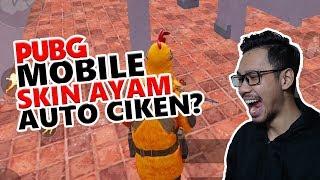 SKIN AYAM AUTO CHICKEN? - PUBG MOBILE INDONESIA