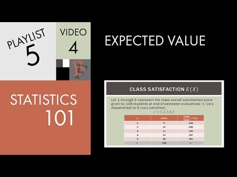 expected value in statistics