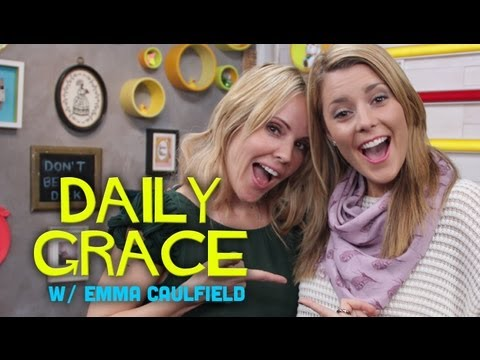 Emma Caulfield and DailyGrace LIVE - 9/25/12 (Full Ep)