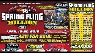 Spring Fling Million Bracket Race Las Vegas Tuesday