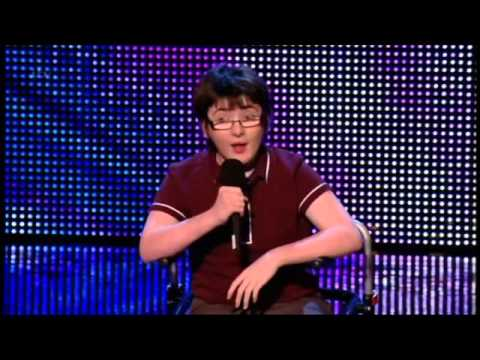 BRITAIN'S GOT TALENT 2013 - JACK CAROLL (COMEDIAN -14 YRS OLD)