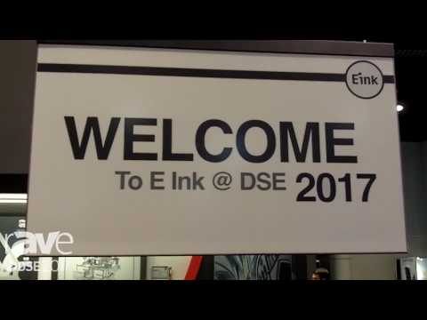 DSE 2017: Eink Presents Flex 32″ Display with Mobius Flexible Technology
