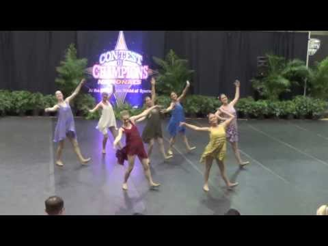 Langley High School Dance Team 2014 - Nationals Jazz Dance
