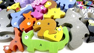 ABC song for kids   The animal alphabet ABC song   Alphabet animals song   ABC wild animals names