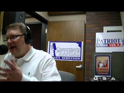 Interview Col. Jim Harding- The Conscience of Kansas radio program