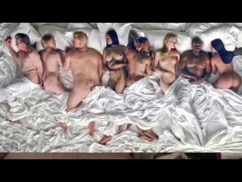 Kanye West Gets Naked With Taylor Swift, Kim K, Donald Trump & More In 'Famous' Video Review