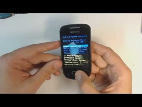 Samsung Galaxy Mini S5570 hard reset