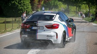 700HP BMW X6M w/ Akrapovic Exhaust - LOUD Pops and Bangs, Revs, Accelerations & Launch Control !