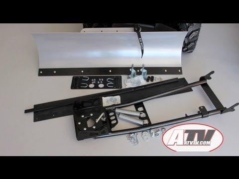 ATV Television Product Review - KFI Pro-S Series Snow Plow Install