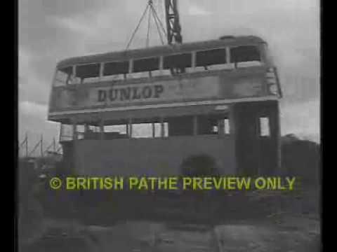 London Transport Buses last trip to the Breakers Yard.
