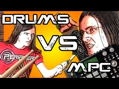 BEAT FIGHTER: MPC vs Drums Music Videos