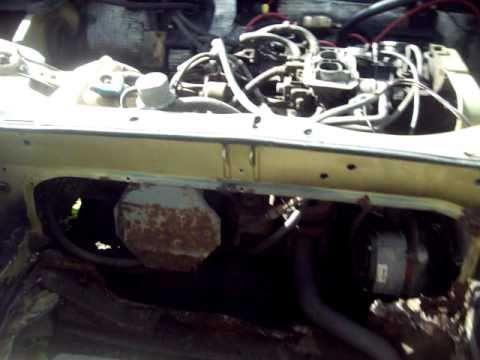 1972 Fiat X1 9. G5 Fiat X 1/9 pt. 2