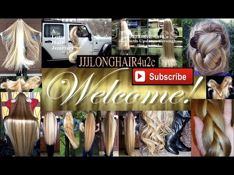 Welcome! JJJLongHair4u2c Channel! Take a look around for long hair inspiration!