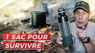 LA SURVIE EN 1 SAC DE 20L | Mike Horn's Advices #4