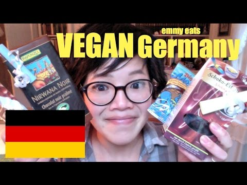 Emmy Eats Vegan Germany - tasting more German sweets