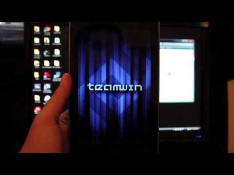 Google Nexus 7 How To Install TWRP 2.2.1 Team Win Recovery Project