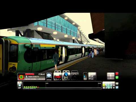 Train Simulator 2014  London to Brighton [East Croydon to Gatwick] + Commentary!