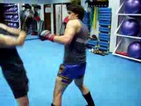 entrenamiento kick boxing labradores Video