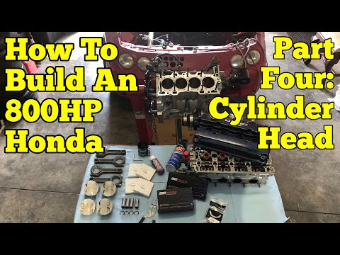 800HP Honda Build || Step-by-Step : Part Four