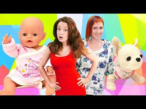 Беби Бон в видео для детей. Веселая школа Капуки Кануки