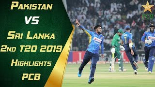 Pakistan vs Sri Lanka 2nd t20