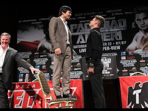 Manny Pacquiao Faces Off Against Chris Algieri in Los Angeles