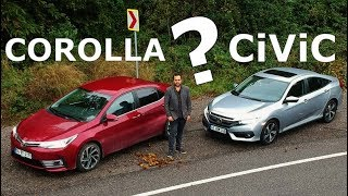 Toyota Corolla vs Honda Civic Sedan - Hangisi?