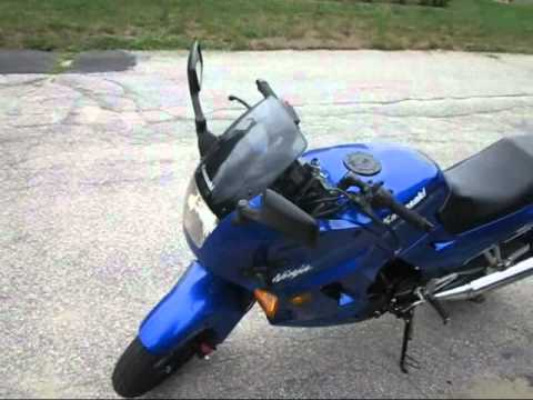 The Ninja 250 is for GIRLS or GAY guys ! (read description)