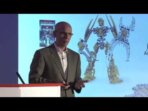 David Robertson tells the LEGO story at the FT Innovate conference