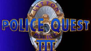 Police Quest 3 The Kindred ~ MS DOS PC