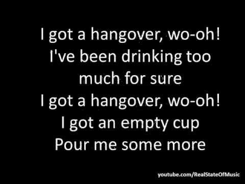 Taio Cruz Feat. Flo Rida - Hangover (lyrics On Screen) video