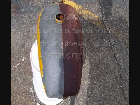 Rust Removal - gas tank
