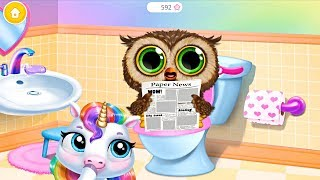 Fun New Born Pony Care Kids Game/ My Baby Unicorn / Let's Take Care Of Cute Pet Animals