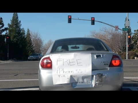 Free Gold iPhone 5S Prank!
