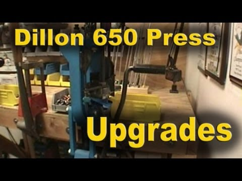 Dillon 650 Progressive Press Upgrades and Basic Operation