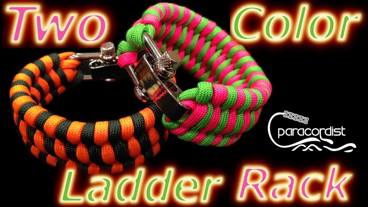 Ladder Braid Paracord Ladder Rack Paracord