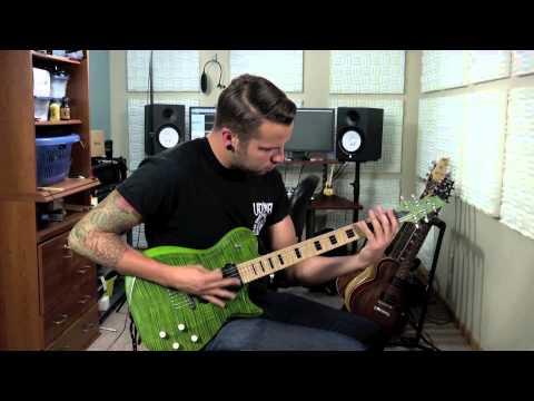 The Color Morale - lifeline (left To Write) Guitar Walk Through video