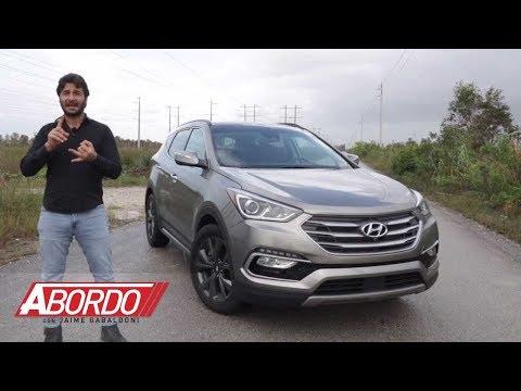 Hyundai Santa Fe Sport 2018 - Prueba A Bordo Completa