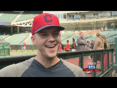Cleveland Indians all-star pitcher Justin Masterson has family to Fort Wayne