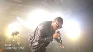 Taio Cruz - iHeart Radio - Break Your Heart (Live)